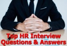 HR Questions in an Interview